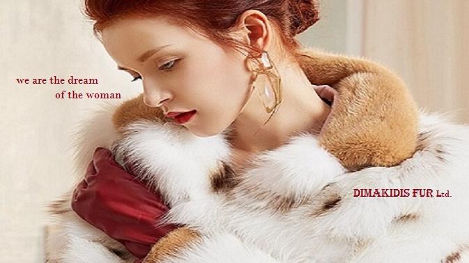 woman fur