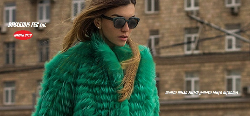 woman's furs